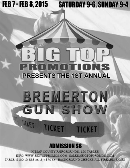 Bremerton Gun Show 2015