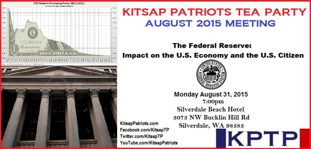 August 2015 Meeting