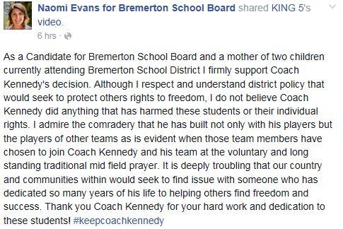 Evans for Joe Kennedy