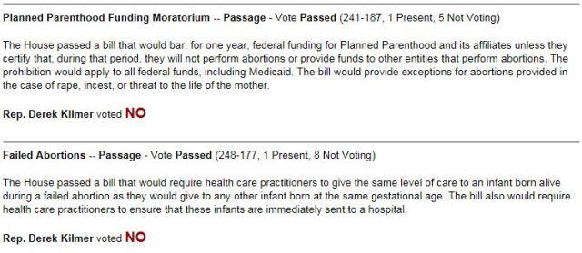 Kilmer Abortion Ban 092115