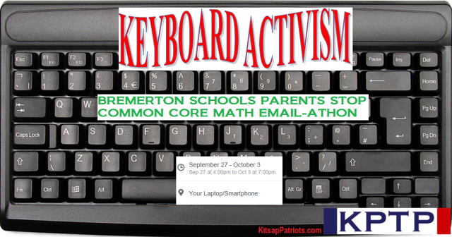 Stop Common Core Email-Athon Sept 2015