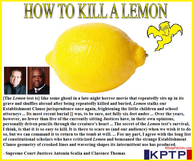 KPTP Lemon Test