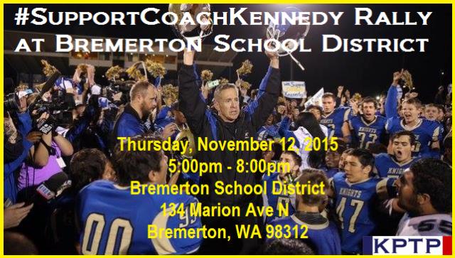 KPTP Coach Kennedy Rally Nov 2015