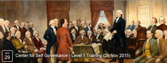 TCSG Training 112915