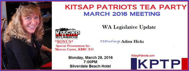 KPTP March 2016 Meeting