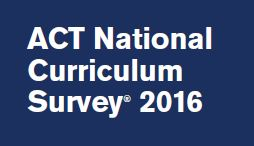 ACT Curriculum Survey 2016